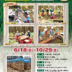 薪づくり(間伐材)体験[10月29日(日)]二ツ井宝の森林(やま)プロジェクト @ 能代市二ツ井町梅内